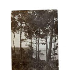 Postales: MUROS DE NALÓN.(ASTURIAS).- PAISAGE DE LA COSTA. POSTAL FOTOGRÁFICA.. Lote 182943803