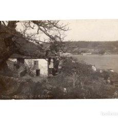 Postales: MUROS.(ASTURIAS).- PAISAGE DE SAN ESTEBAN. POSTAL FOTOGRÁFICA.. Lote 183029162