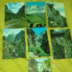 Postales: LOTE POSTALES PICOS DE EUROPA. Lote 183177003