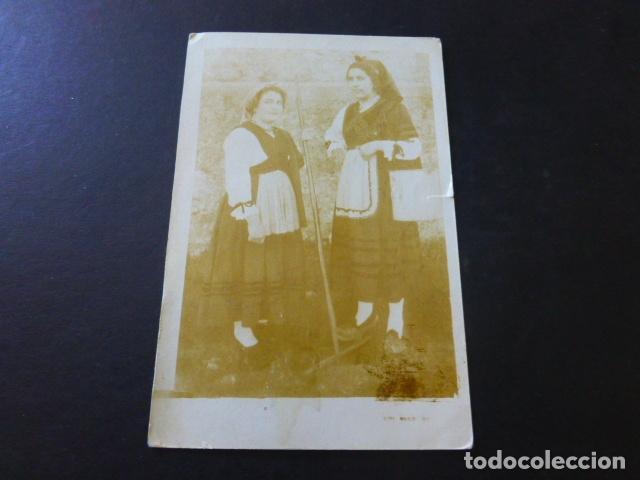 RETRATO MUJERES ASTURIANAS POSTAL FOTOGRAFICA (Postales - España - Asturias Antigua (hasta 1.939))