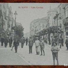 Postales: POSTAL DE GIJON, ASTURIAS, CALLE CORRIDA, N.18, ED. MATOS, NO CIRCULADA.. Lote 183579227