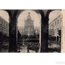 Postales: GIJÓN.(ASTURIAS).- COLEGIO DE LA INMACULADA, DIRIGIDIO POR PP. JESUITAS.- MONUMENTO A LA INMACULADA.. Lote 183733175
