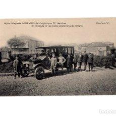 Postales: GIJÓN.(ASTURIAS).- COLEGIO DE LA INMACULADA, PP. JESUITAS.- ENTRADA POR MEDIO PENSIONISTAS.. Lote 183737340