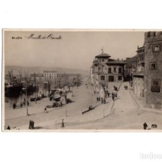 Postales: GIJÓN.(ASTURIAS).- MUELLE DE ORIENTE.. Lote 183772036