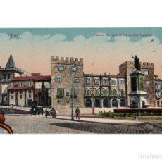 Postales: GIJÓN.(ASTURIAS).- PALACIO DEL CONDE DE REVILLAGIGEDO.. Lote 183816007