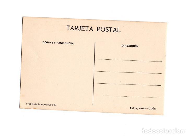 Postales: GIJÓN.(ASTURIAS).- LA DÁRSENA. - Foto 2 - 183821153