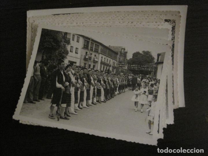 Postales: NUEVA LLANES-ASTURIAS-CONJUNTO DE 16 FOTOGRAFIAS ANTIGUAS-FIESTAS...-FOTO DE DIEGO-VER FOTOS(V-18307 - Foto 3 - 184549190