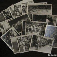 Postales: NUEVA LLANES-ASTURIAS-CONJUNTO DE 16 FOTOGRAFIAS ANTIGUAS-FIESTAS...-FOTO DE DIEGO-VER FOTOS(V-18307. Lote 184549190