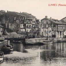 Postales: LLANES. PUERTO INTERIOR. G. FERNANDEZ. Lote 185993591
