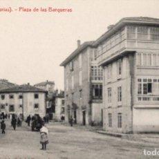 Postales: LLANES. PLAZA DE LAS BARQUERAS. G. FERNANDEZ. Lote 185993841