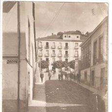 Postales: CANGAS DE TINEO (ASTURIAS) CALLE DE DIZ TIRADO.. Lote 186048322