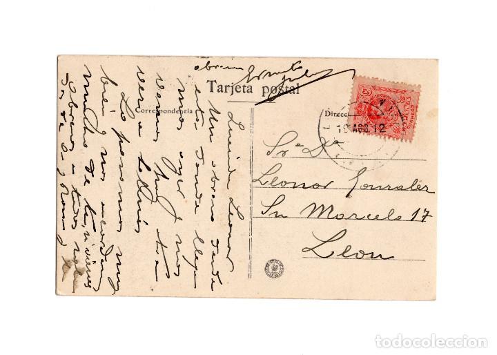 Postales: COVADONGA.(ASTURIAS).- CAPILLA DE LA VIRGEN. INTERIOR DE LA GRUTA. - Foto 2 - 186341437