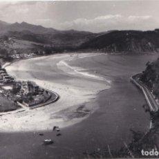 Postales: RIBADESELLA (ASTURIAS) - ENTRADA DE PUERTO Y PLAYA. Lote 186800361