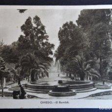 Postales: OVIEDO, EL BOMBE, POSTAL CIRCULADA DEL AÑO 1942. Lote 187611865