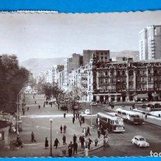 Postales: POSTAL DE OVIEDO: PASEO JÓSE ANTONIO Y CALLE URÍA. Lote 189624821