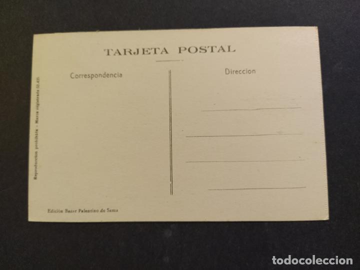 Postales: SAMA DE LANGREO-ASTURIAS-CALLE CAMPOSAGRADO Y BANCO HERRERO-3-ROISIN-POSTAL ANTIGUA-(65.789) - Foto 3 - 189897680
