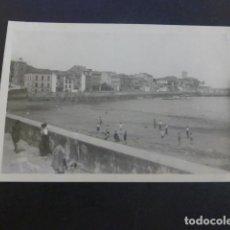 Postales: LUANCO ASTURIAS PLAYA LA RIVERA Y VISTA PARCIAL POSTAL FOTOGRAFICA. Lote 190142597