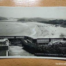 Postales: SUANCES, SANTANDER. VISTA GENERALDE LA PLAYA. Nº4.. Lote 190507780