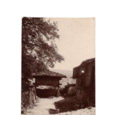 Cartes Postales: ASTURIAS.- UN HORREO EN LA ALDEA. POSTAL FOTOGRÁFICA.. Lote 190629666