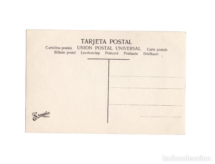 Postales: TIPOS ASTURIANOS. DESPUÉS DEL BAILE. - Foto 2 - 190703748