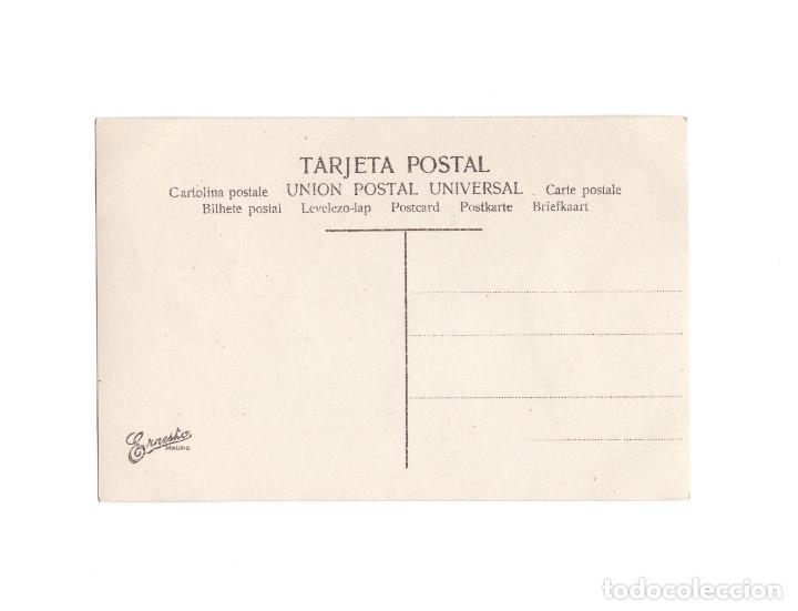 Postales: TIPOS ASTURIANOS. PREPARANDO PARA EL BAILE. - Foto 2 - 190703806