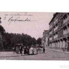 Postales: GIJÓN.(ASTURIAS).- CALLE SAN BERNARDO Y PASEO BEGOÑA. . Lote 190734910