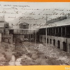 Postales: SALINAS-ARNAU. FABRICA DE ZINC. ASTURIAS. LA PALMA ULTRAMARINOS. POSTALES ORTIZ, MONFORTE.. Lote 190735497