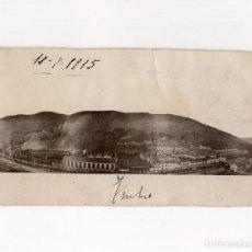 Postales: TRUBIA.(OVIEDO).- ANTIGUA FÁBRICA DE ARMAS. 1915.. Lote 190770180