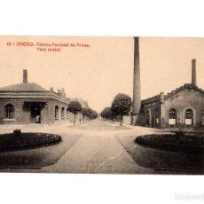 Postales: OVIEDO.(ASTURIAS).- FÁBRICA NACIONAL DE ARMAS. NAVE CENTRAL.. Lote 190984168