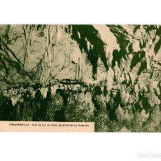 Postales: RIBADESELLA.(ASTURIAS).- UNO DE LOS VARIADOS DETALLE DE LA CUEVONA.. Lote 190994313
