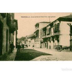 Postales: RIBADESELLA.(ASTURIAS).- CALLE MANUEL CASO VILLA. VISTA GENERAL.. Lote 190994993