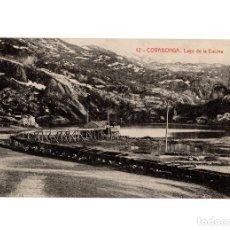 Postales: COVADONGA.(ASTURIAS).- LAGO DE LA ENCINA. Lote 191008750