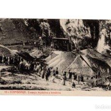 Postales: COVADONGA.(ASTURIAS).- MINAS DE COMEYA , DEPOSITOS Y LAVADEROS.. Lote 191009255