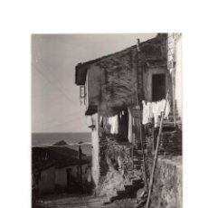 Postales: CUDILLERO.(ASTURIAS).- POSTAL FOTOGRÁFICA. FOTO PIRE, MUROS DE NALÓN.. Lote 191014105