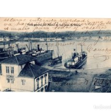 Postales: SAN JUAN DE NIEVA.(ASTURIAS).- VISTA GENERAL DEL PUERTO.. Lote 191015408