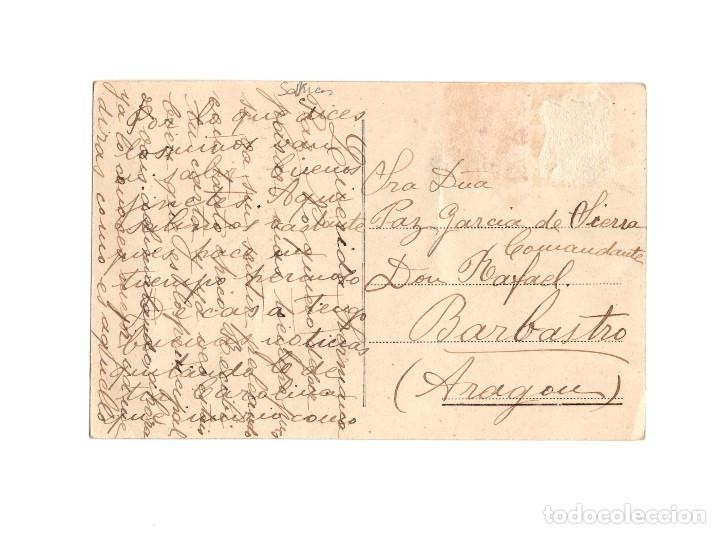 Postales: SAN JUAN DE NIEVA.(ASTURIAS).- VISTA GENERAL DEL PUERTO. - Foto 2 - 191015408