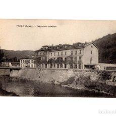 Postales: TRUBIA.(OVIEDO).- CALLE DE LA ESTACIÓN. . Lote 191016531