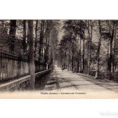 Postales: TRUBIA.(OVIEDO).- CARRETERA DEL PROBADERO.. Lote 191016837