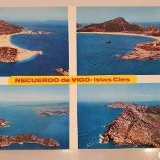 Postales: N°693 VIGO/ ISLAS CIES/ SIN CIRCULAR/ 10'5×15 / REF.A.38. Lote 191333415