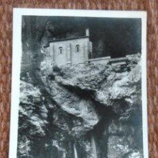 Postales: COVADONGA - LA SANTA CUEVA - ED.: ROISIN FOTO. Lote 191333630