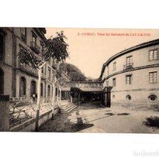 Postales: OVIEDO.(ASTURIAS).- BALNEARIO DE LAS CALDAS. GRAND HOTEL.. Lote 191524793