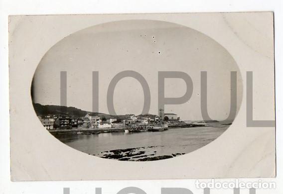 VISTA DE LUANCO. SEPT 1923. FOT M. GONZALEZ. ASTURIAS (Postales - España - Asturias Antigua (hasta 1.939))