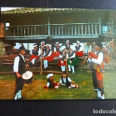 Postales: ASTURIAS TIPOS REGIONALES GAITERO. Lote 192007040