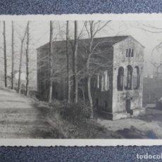 Postales: SANTA MARÍA DEL NARANCO OVIEDO ASTURIAS RARA FOTOGRAFÍA TAMAÑO POSTAL RARA. Lote 192060400
