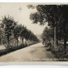 Cartoline: OVIEDO - AVENIDA DE ADOLFO A. BUYLLA - P29585. Lote 192387907