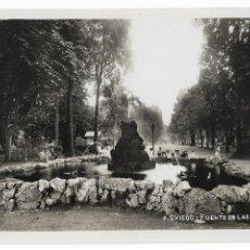 Cartoline: OVIEDO - FUENTE DE LAS RANAS - P29585. Lote 192388032