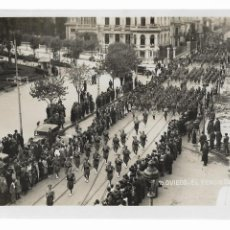 Postales: OVIEDO - EL TERCIO DESFILANDO - LA LEGIÓN - SUCESOS OCTUBRE 1934 - P29586. Lote 192785402