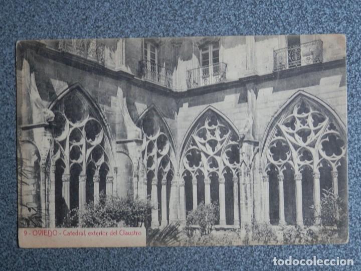 Postales: OVIEDO ASTURIAS LOTE 5 POSTALES ANTIGUAS - Foto 5 - 193922258