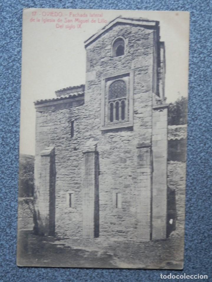 Postales: OVIEDO ASTURIAS LOTE 5 POSTALES ANTIGUAS - Foto 7 - 193922258