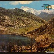 Postales: COVADONGA (ASTURIAS) LAGO ENOL. POSTAL SIN CIRCULAR . Lote 194074378